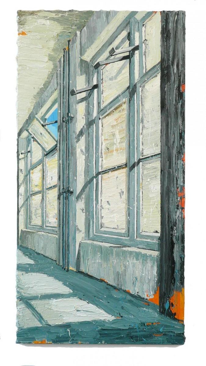 Hans de Bruin Blauwe Hemel  200 X 100 cm